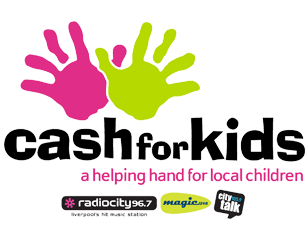 cash for kids radio city logo